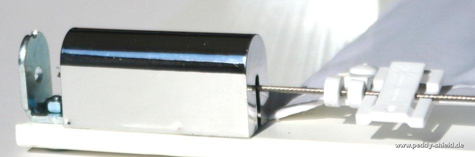 2x seilspanner universal chrom seilspanner universal mit abdeckkappe chrom f r sonnensegel in. Black Bedroom Furniture Sets. Home Design Ideas