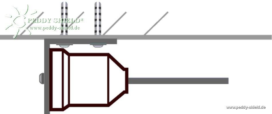 abspannsystem zum fixieren und spannen eines seilendes 1 st ck. Black Bedroom Furniture Sets. Home Design Ideas