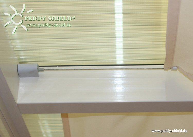 sonnensegel glasdach 88 x 275 cm uni hell elfenbein. Black Bedroom Furniture Sets. Home Design Ideas